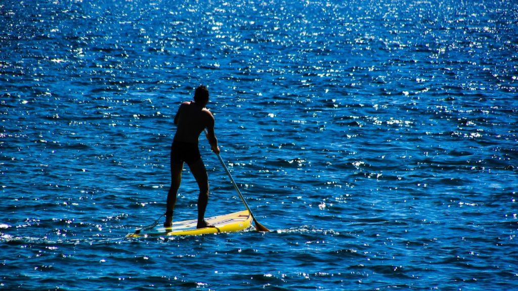Paddleboarding Steps