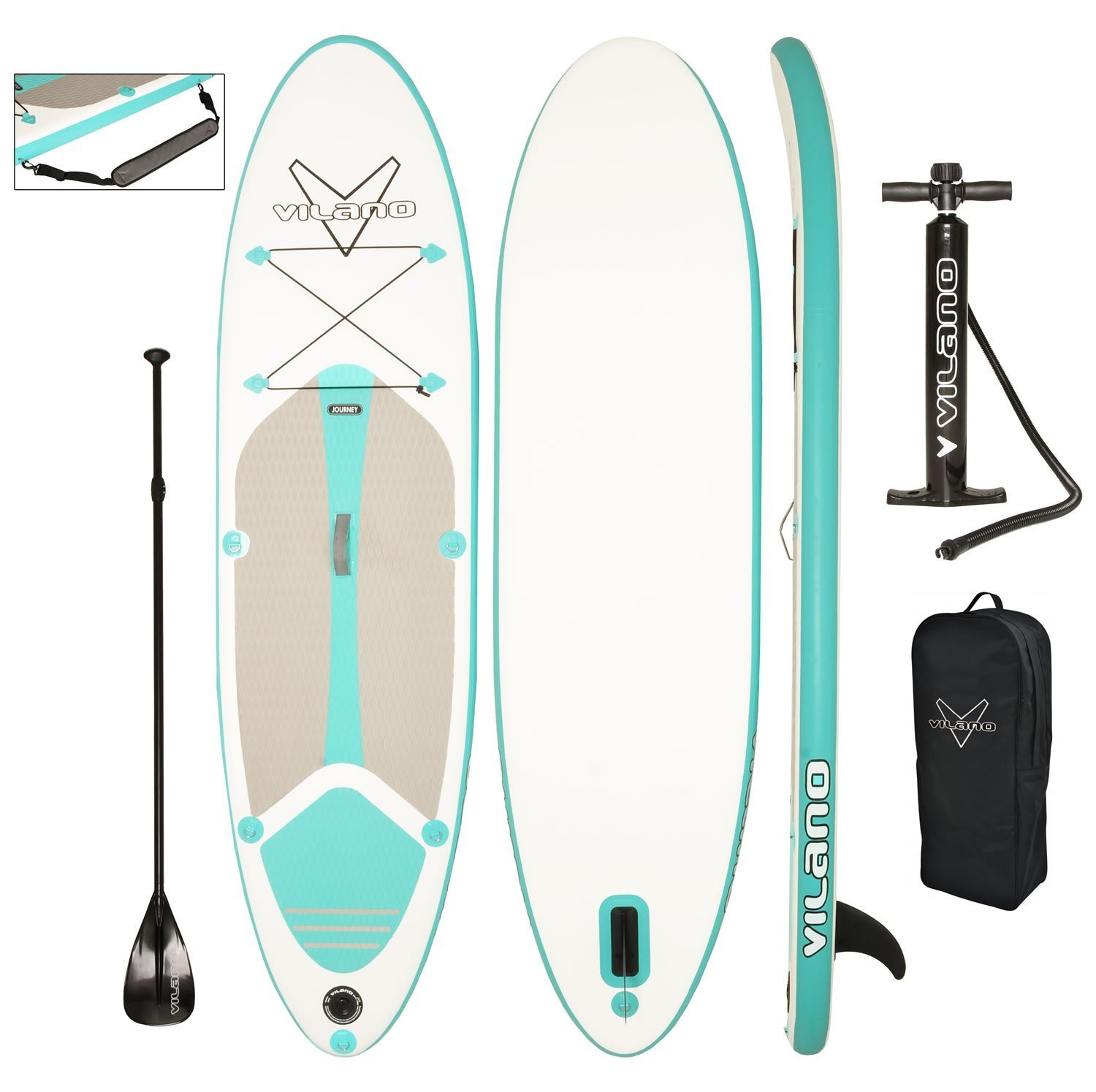 Vilano Sport Inflatable Paddleboard Review