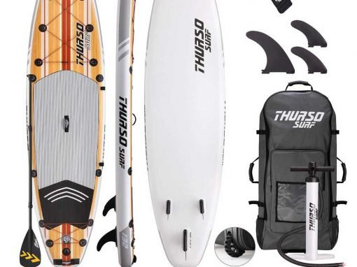 THURSO Surf Waterwalker Paddle board review – get your iSUP on !